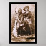 Sitting Bull & Buffalo Bill 1891 Poster