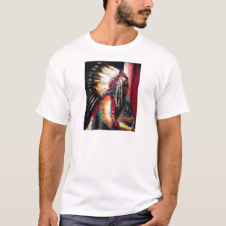 Sitting Bull in Color T-Shirt