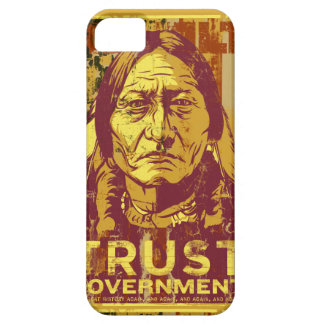 Sitting Bull Trust Government iPhone 5S Case