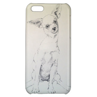 sitting Chihuahua iPhone 5C Covers