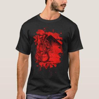 Sitting Demon - bleached talk T-Shirt