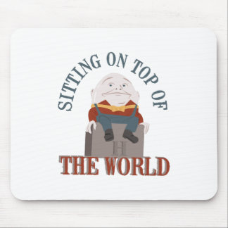 Sitting Humpty Dumpty Mouse Pad