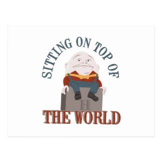Sitting Humpty Dumpty Postcard