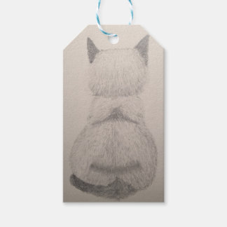 Sitting Kitty Gift Tags