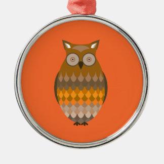 Sitting Owl Christmas Tree Ornament