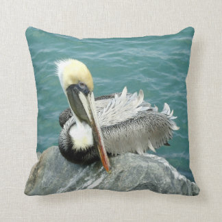 Sitting Pelican Cushion
