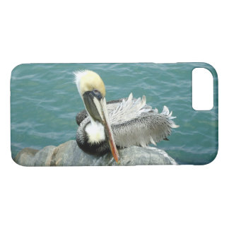 Sitting Pelican iPhone 7 Case