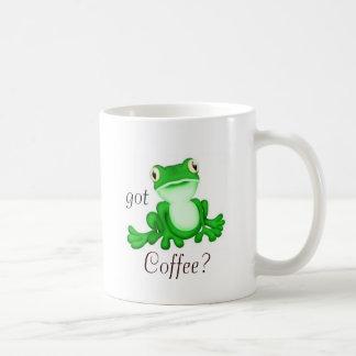 Sitting pretty frog got Coffee? Coffee Mug