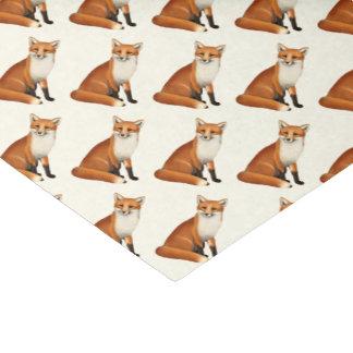 Sitting Red Fox Wildlife Tissue Paper