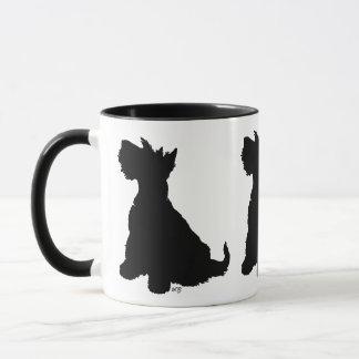 Sitting Scottie Dog Mug