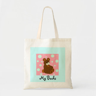 Sitting Teddy Bear Tote Bag