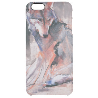 Sitting Wolf 2000 Clear iPhone 6 Plus Case