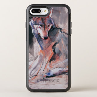 Sitting Wolf 2000 OtterBox Symmetry iPhone 8 Plus/7 Plus Case
