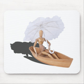 SittinginBoatWithUmbrella050314.png Mouse Pads