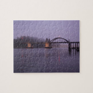 Siuslaw River Bridge, Siuslaw river Jigsaw Puzzle