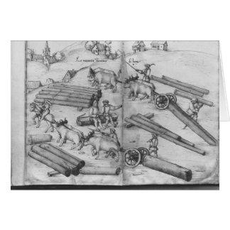 Siver mine of La Croix-aux-Mines, Lorraine Greeting Cards