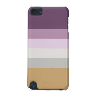 Six Colors - Blue Violet Purple Pink Gray Yellow iPod Touch (5th Generation) Cases