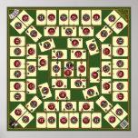 Six Generations Board Card Game - Genealogical Map Print