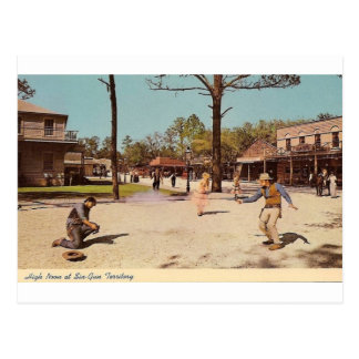 Six Gun Territory Theme Park (Ocala, FL) Postcard