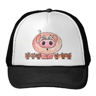Six Little Pigs Cap