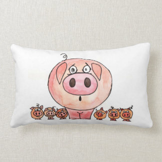 Six Little Pigs Cushion