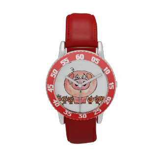 Six Little Pigs Watches
