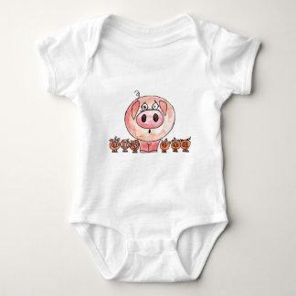 Six Little Pigs Infant Creeper
