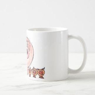 Six Little Pigs Mugs