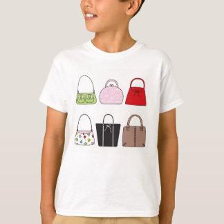 Six Little Purses Kid's TShirt