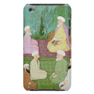Six Muslim holy men seated on a garden terrace, fr Barely There iPod Covers