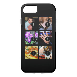 Six of Your Photos to Make Your Own Original iPhone 8/7 Case