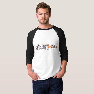 Six Pack Cartoon Dogs T-Shirt