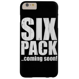 Six pack ... coming soon! barely there iPhone 6 plus case
