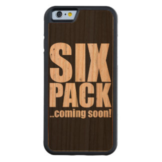 Six pack ... coming soon! cherry iPhone 6 bumper case