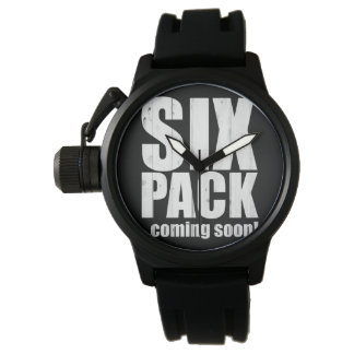 Six pack ... coming soon! wristwatch