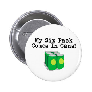Six Packs Pinback Buttons