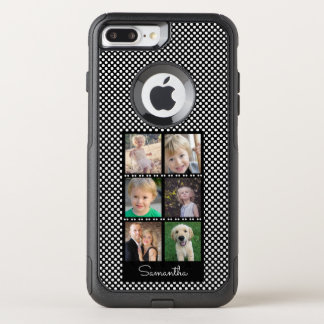 Six Photos Family Collage OtterBox Commuter iPhone 8 Plus/7 Plus Case