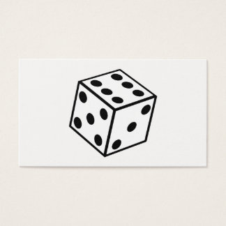 Six Sided Dice Business Card