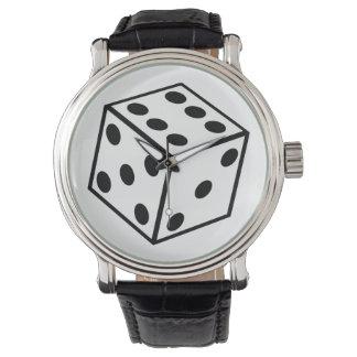 Six Sided Dice Watch
