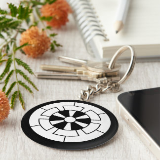 Six these demagnetization cars key ring