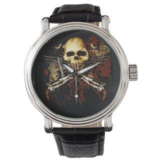 Sixgun Skull Timepiece Watch