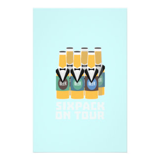 Sixpack Beer on Tour Zn1pu 14 Cm X 21.5 Cm Flyer