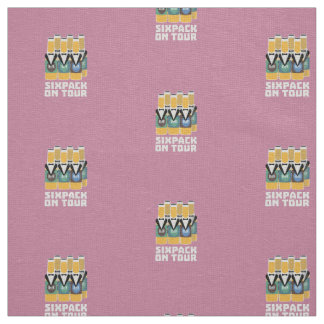 Sixpack Beer on Tour Zn1pu Fabric