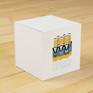 Sixpack Beer on Tour Zn1pu Favour Box