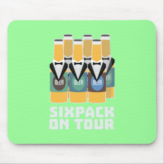 Sixpack Beer on Tour Zn1pu Mouse Pad