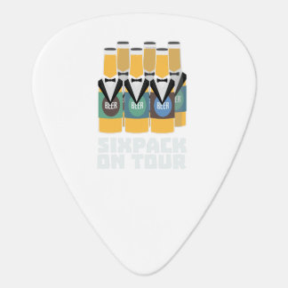 Sixpack Beer on Tour Zn1pu Plectrum