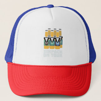 Sixpack Beer on Tour Zn1pu Trucker Hat