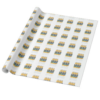 Sixpack Beer on Tour Zn1pu Wrapping Paper