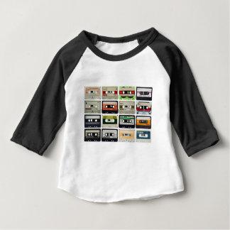 Sixteen Audio Cassettes Baby T-Shirt