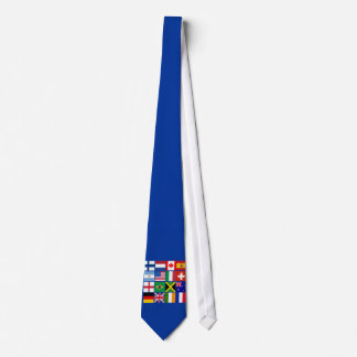 Sixteen Flags of Many Nations T-shirts, Mugs, More Tie